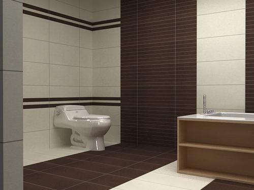Gạch 30x60 thích hợp với mọi không gian phòng tắm
