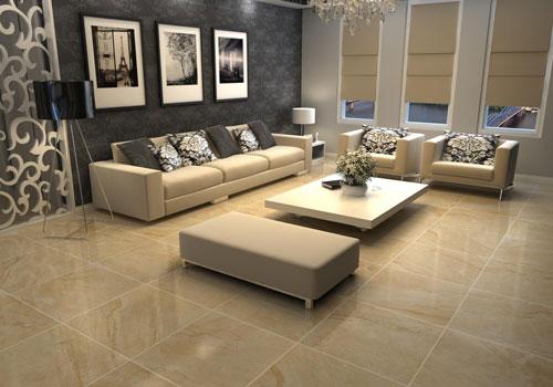 Gạch Ceramic cho lát sàn phòng khách