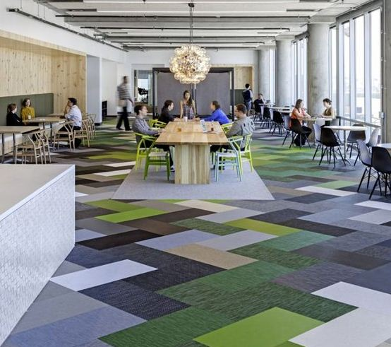 Gạch lát nền màu sắc giúp tăng khả năng sáng tạo