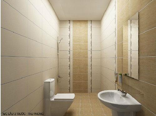 Gạch lát sàn phòng tắm phải chống trơn trượt