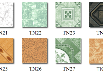 Các loại gạch Ceramic