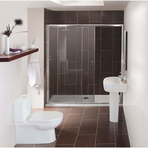 Chất liệu Ceramic được lựa chọn nhiều cho phòng tắm