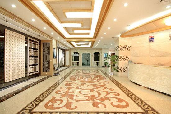 Gạch Granite in hoa văn cho sàn nhà nổi bật