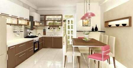 Gạch ốp lát Bạch Mã cho phòng bếp gần gũi