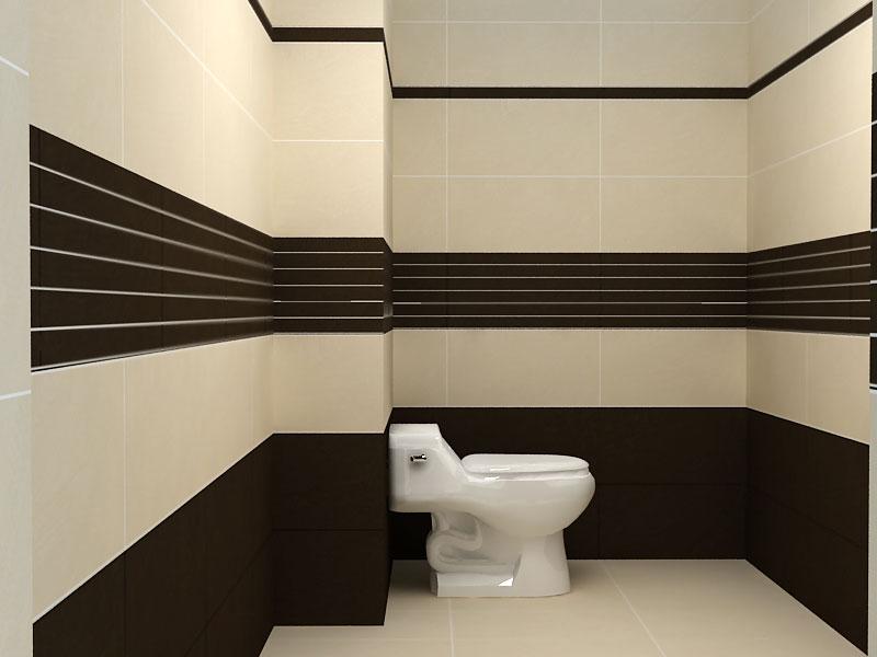 Nhà tắm cao rộng nên chọn thi công hai viền