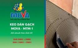 Keo dán gạch Mova MTM-1 thi công nhanh đơn giản