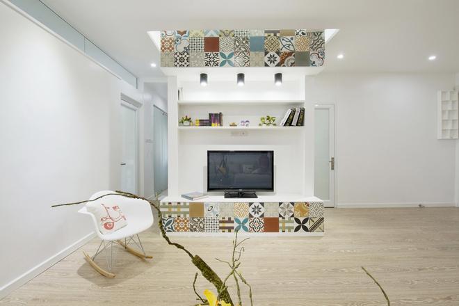 Phòng khách đẹp, sang trọng nhờ gạch ốp lát chất lượng