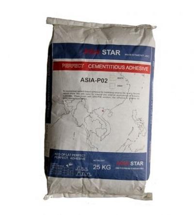 Keo dán gạch Perfect ASIA-P02 khu vực trong nhà