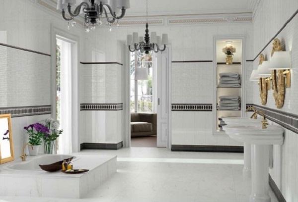 chọn mua gạch ốp lát Bạch Mã cho phòng tắm