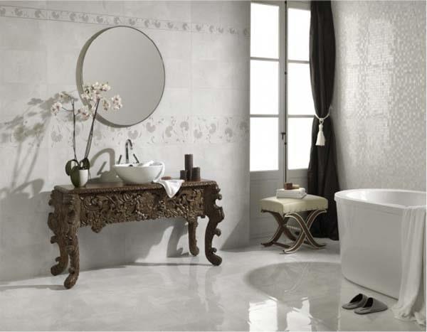 Các mẫu gạch 60x60 đẹp mãn nhãn cho phòng tắm