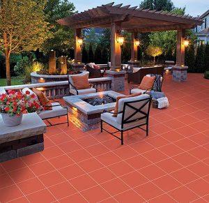 Gạch lát nền Viglacera D401 là mẫu gạch Cotto lát sân vườn đẹp giá rẻ