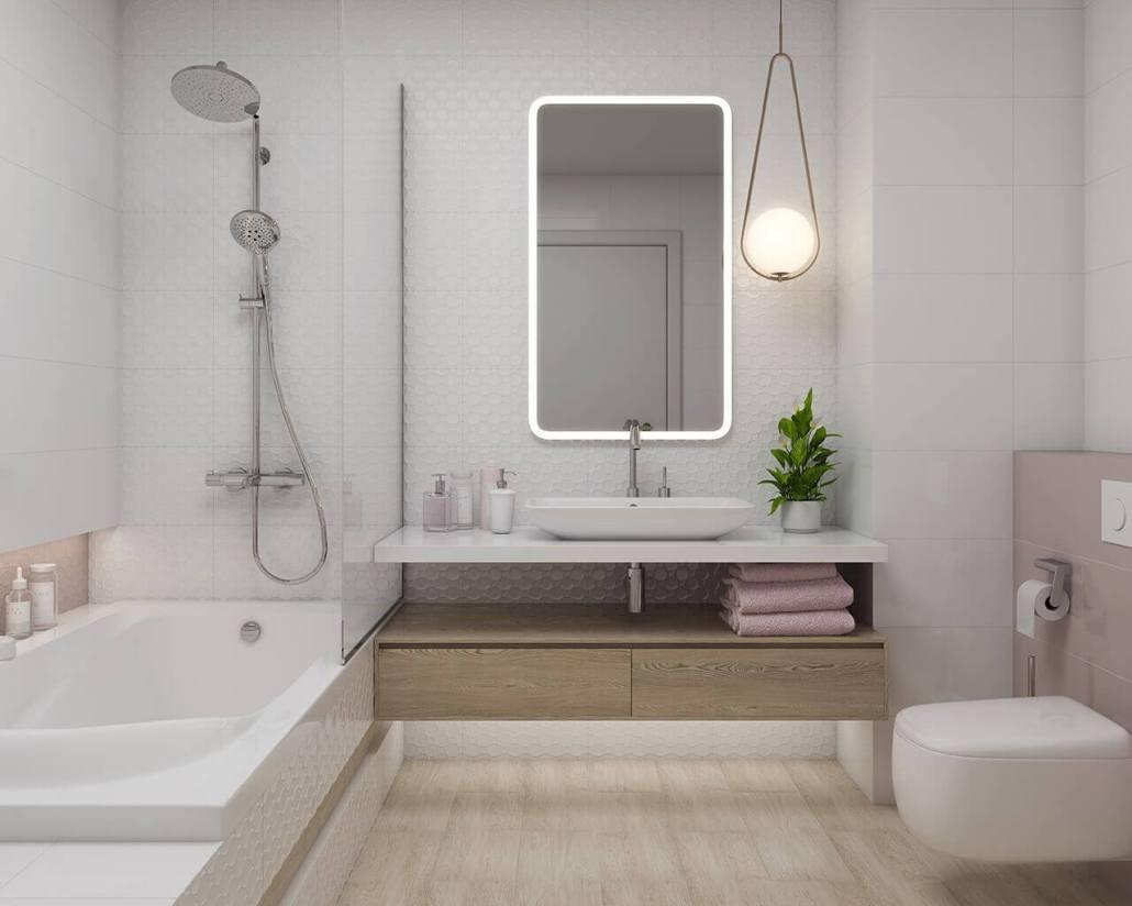 Mẫu gạch ốp lát nhà vệ sinh đẹp cho không gian đẳng cấp