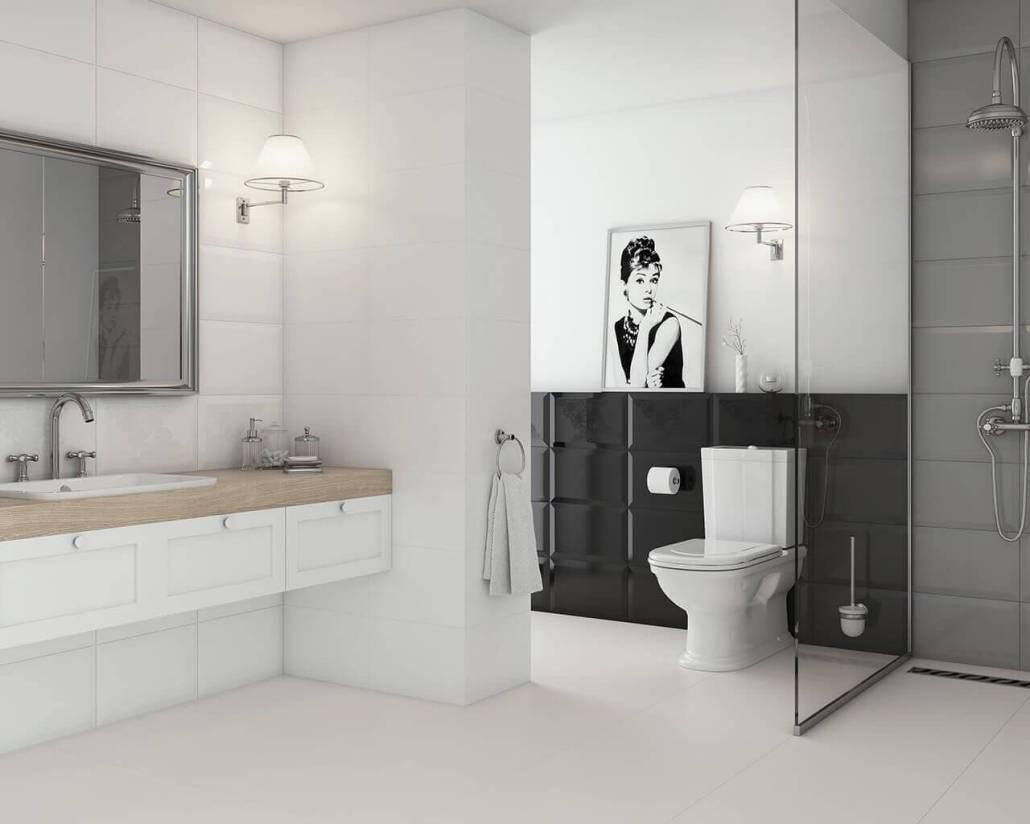 Mẫu gạch ốp lát nhà vệ sinh đẹp cho không gian đẳng cấp 2