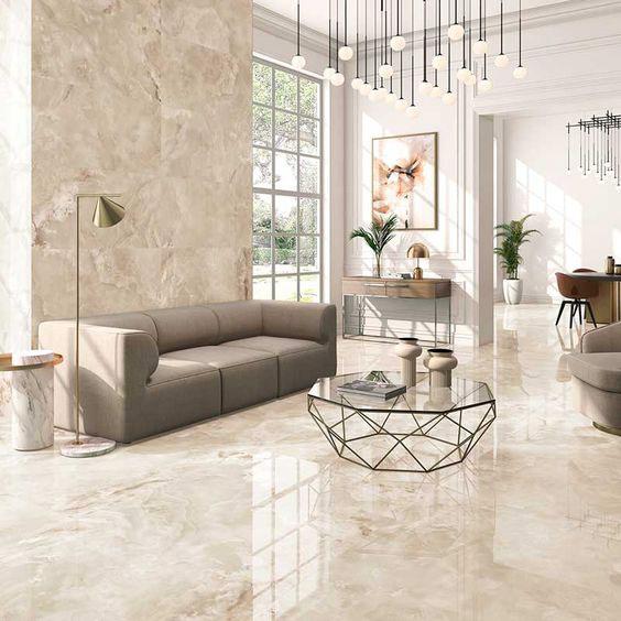 Điểm danh các mẫu gạch lát nền phòng khách sang trọng  xu hướng 2021 3