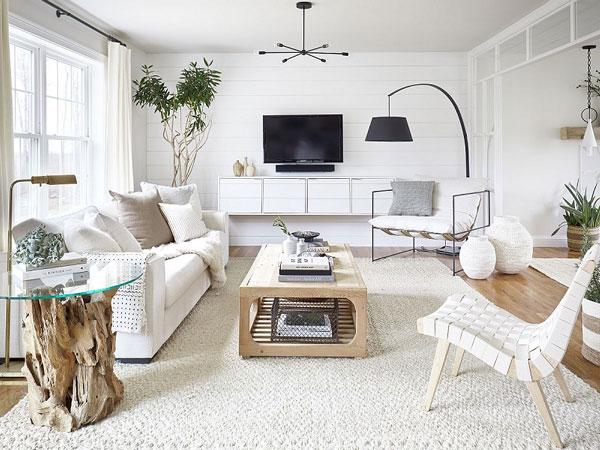 Bí quyết trang trí phòng khách nhỏ sang trọng hiện đại 1