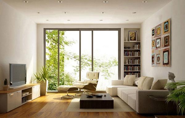 Bí quyết trang trí phòng khách nhỏ sang trọng hiện đại 3