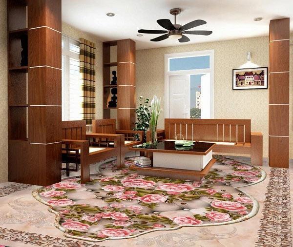 Cập nhật 20+ mẫu gạch lát nền phòng khách đẹp không thể rời mắt 11