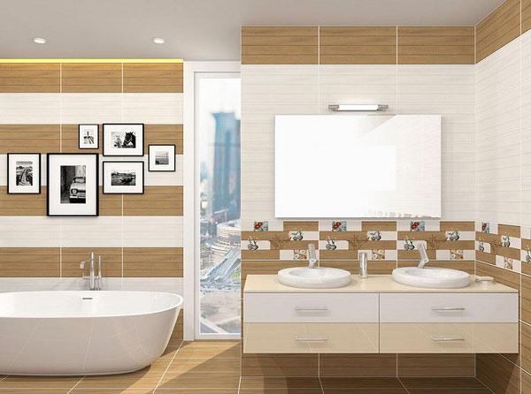 TOP mẫu gạch ốp tường sọc ngang phòng tắm hot nhất 2021 2