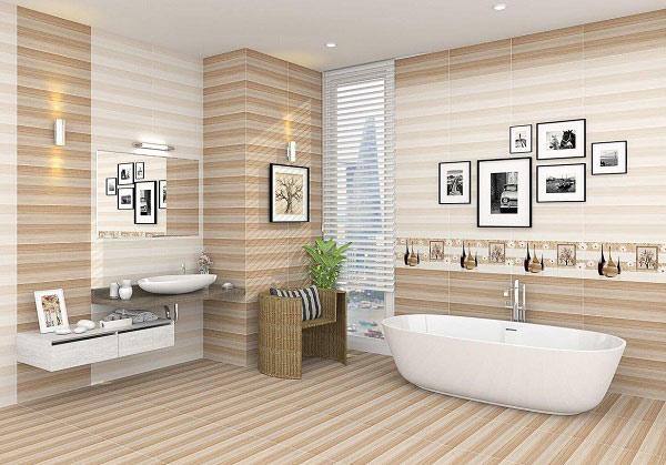 TOP mẫu gạch ốp tường sọc ngang phòng tắm hot nhất 2021 4