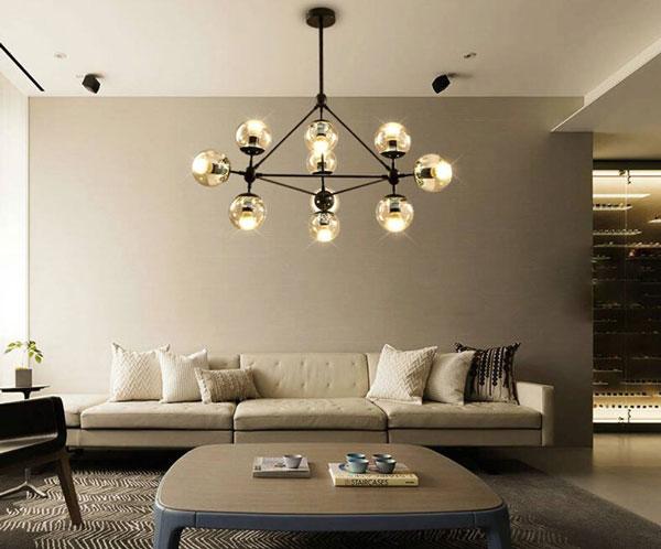 99+ mẫu đèn trang trí phòng khách ĐẸP - ĐỘC - CHẤT 5
