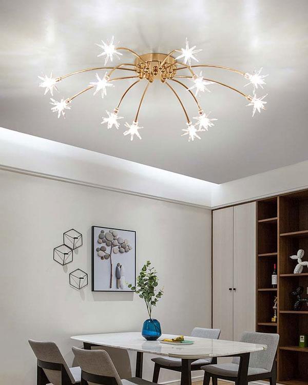 99+ mẫu đèn trang trí phòng khách ĐẸP - ĐỘC - CHẤT 6
