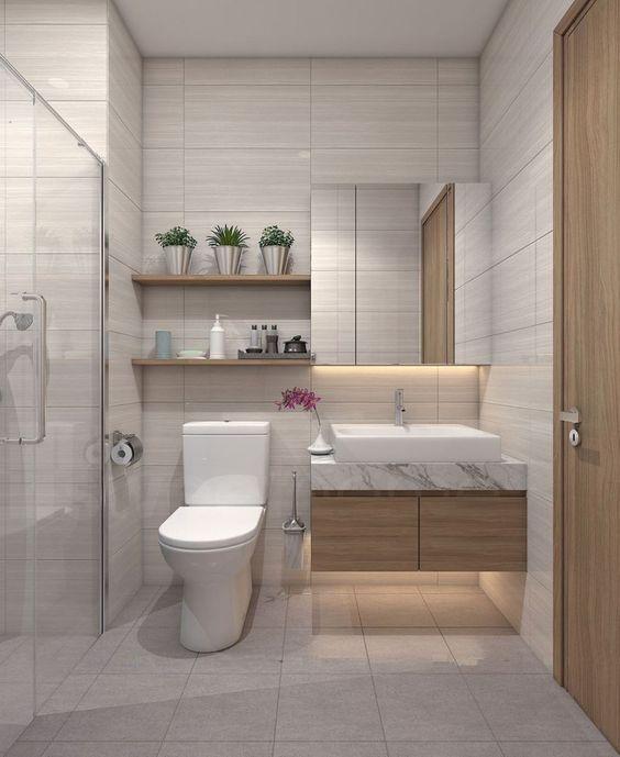 Tổng hợp các mẫu nhà tắm nhỏ đẹp cho nhà cấp 4 2