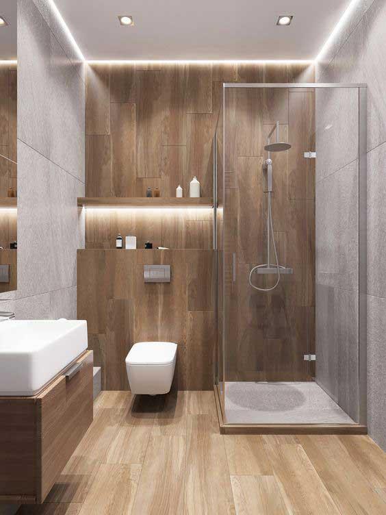 Tổng hợp các mẫu nhà tắm nhỏ đẹp cho nhà cấp 4 8