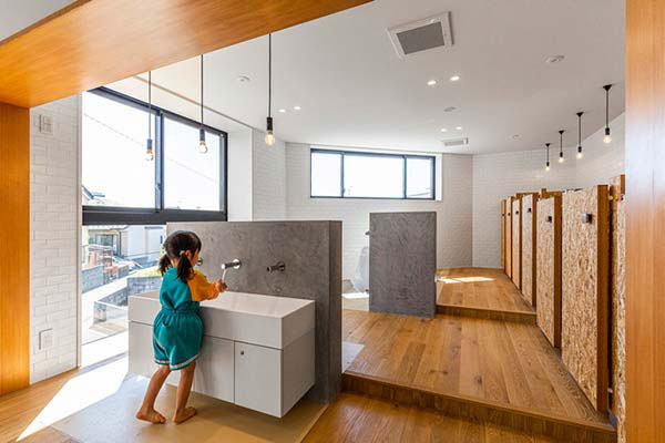 Những quy tắc cần tuân thủ khi trang trí nhà vệ sinh mầm non 1