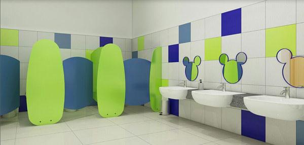 Những quy tắc cần tuân thủ khi trang trí nhà vệ sinh mầm non 10
