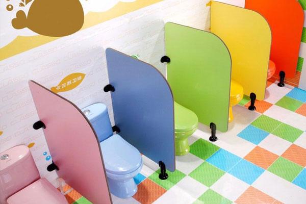 Những quy tắc cần tuân thủ khi trang trí nhà vệ sinh mầm non 4
