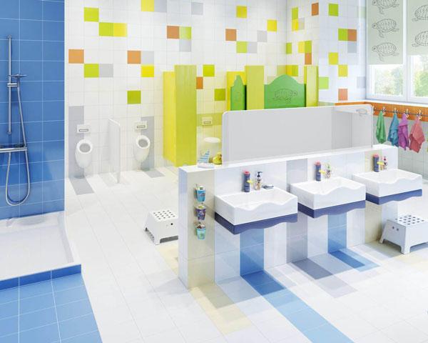 Những quy tắc cần tuân thủ khi trang trí nhà vệ sinh mầm non 7