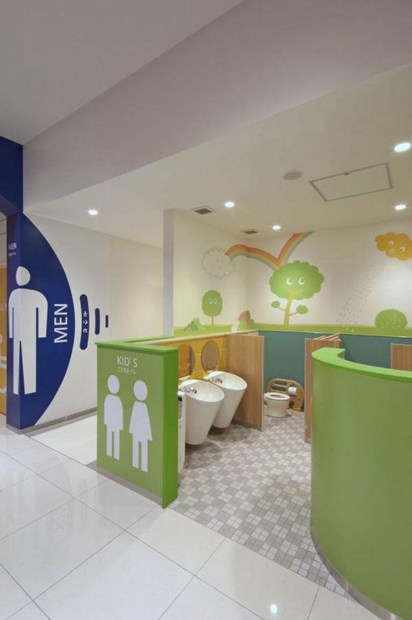 Những quy tắc cần tuân thủ khi trang trí nhà vệ sinh mầm non 8