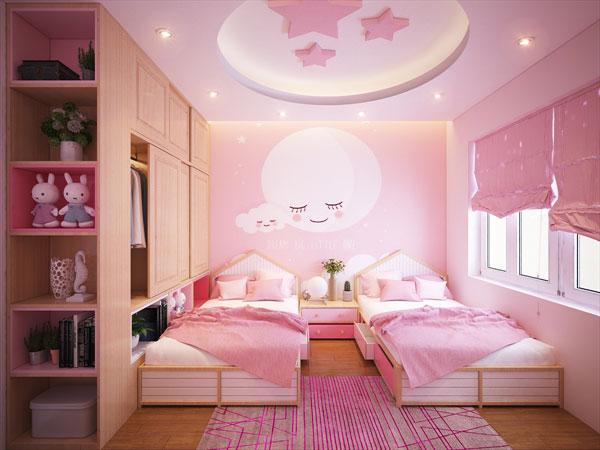 Tiêu chí cần biết khi thiết kế mẫu phòng ngủ cho bé gái 1