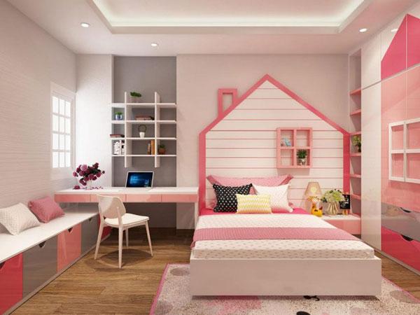 Tiêu chí cần biết khi thiết kế mẫu phòng ngủ cho bé gái 3