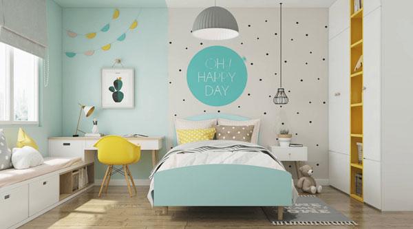 Tiêu chí cần biết khi thiết kế mẫu phòng ngủ cho bé gái 4