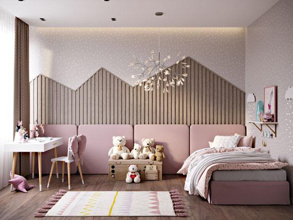 Tiêu chí cần biết khi thiết kế mẫu phòng ngủ cho bé gái 6
