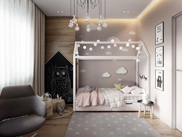 Tiêu chí cần biết khi thiết kế mẫu phòng ngủ cho bé gái 7