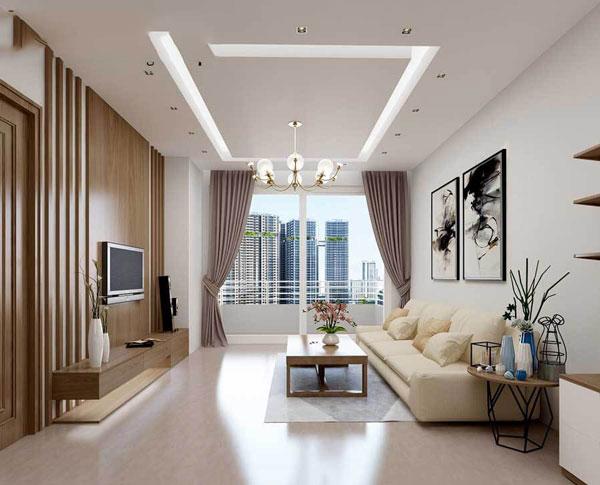 Tiêu chí thiết kế phòng khách nhỏ đẹp CHUẨN NHẤT 1