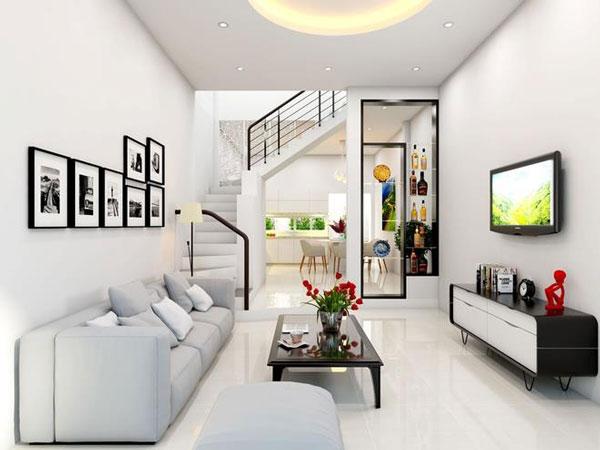 Tiêu chí thiết kế phòng khách nhỏ đẹp CHUẨN NHẤT 4